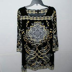 Style & Co Mid Arm Sleeve Tunic Dress size XL